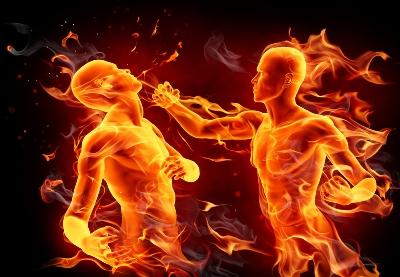 битва Огня Овен