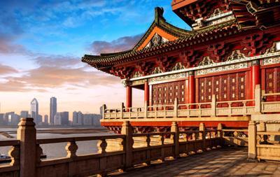 Китайское сооружение