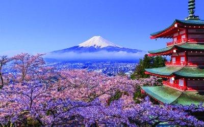 Япония гора